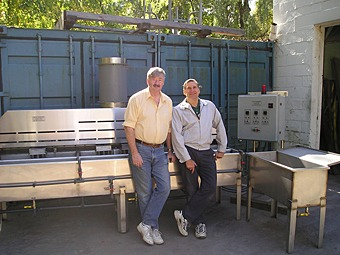 Walt and Helmut from Du-Lite