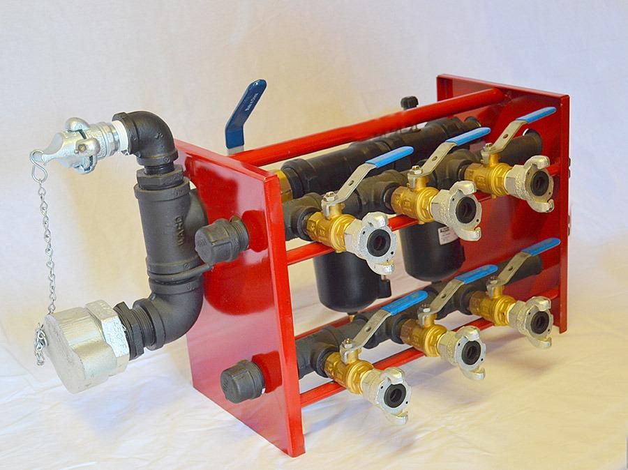 DRI-AIR Lube System: Model DL6AM