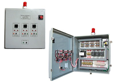 Easy Black Electrical Control Panel