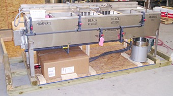 Black oxide equipment carefully created to ensure safe delivery.