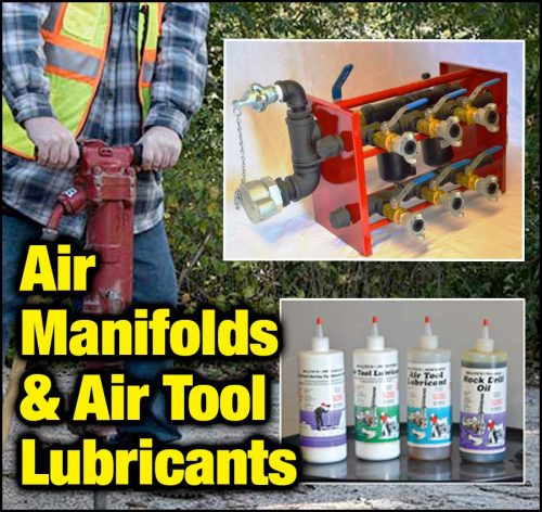 DRI-AIR LUBE Manifold System and Air Tool Lubricants