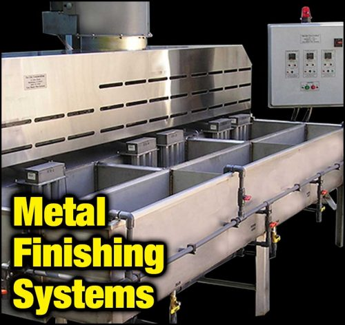 Gas or Electric Metal Finishing Systems Available